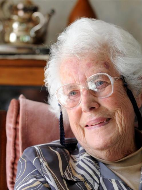 Peace Crawford, who was born on Armistice Day, will celebrate her 90th birthday today.