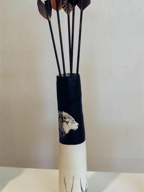 """""""Fallen feathers"""", Bridie Henderson (Brett McDowell Gallery)"""