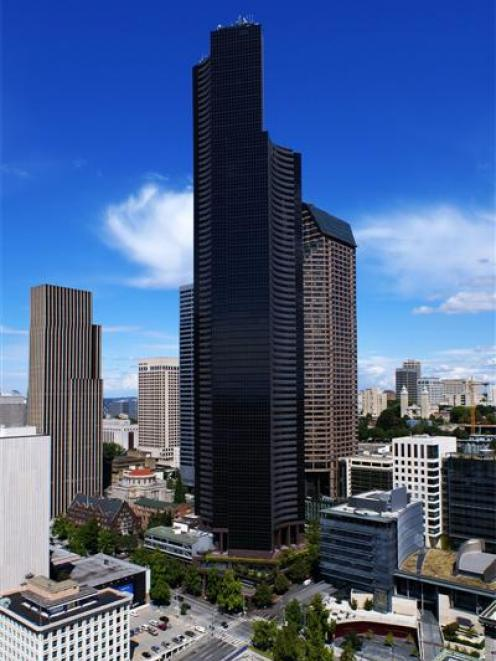 The 240m Columbia Tower in Seattle.