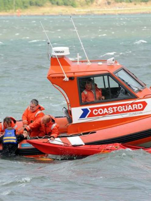 A 62-year-old Dunedin man is pulled from Otago Harbour after his kayak capsized near Company Bay...