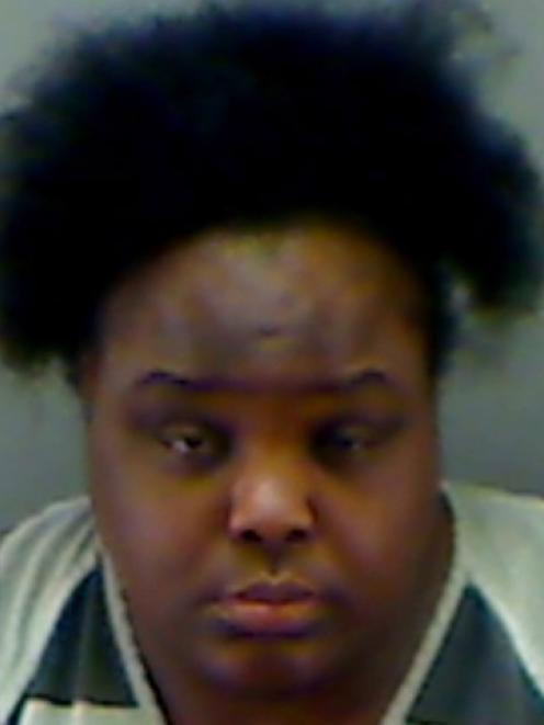 A booking photo of Charity Johnson. REUTERS/Longview Police Dept