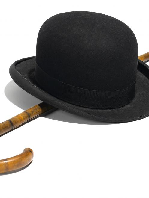 A bowler hat and cane that belonged to silent film star Charlie Chaplin will go under the hammer...