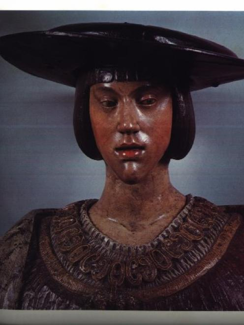 A bust by Conrad Meit made about 1515 or 1516. Photo supplied.