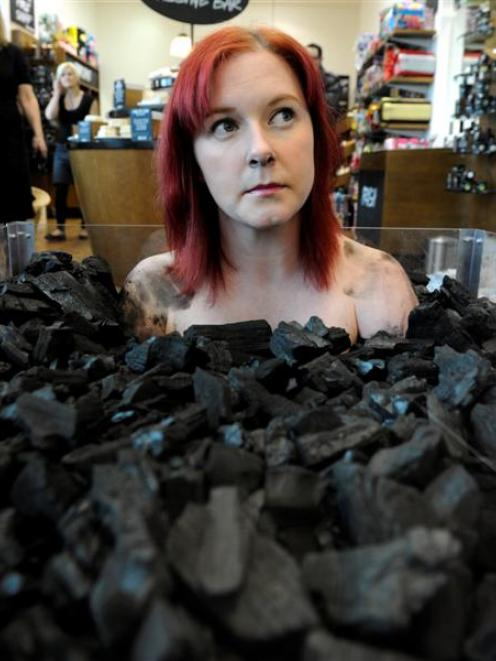 A campaign against the New Zealand coal industry saw Lush employee Rebecca Whitburn buried at the...