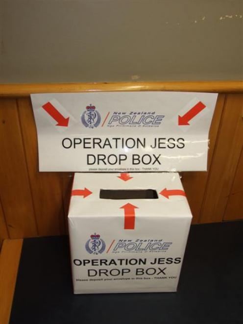 A drop box has been set up at the Queenstown police station for people to deliver victim impact...