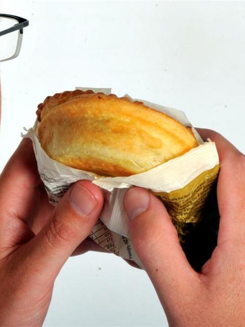 A Dunedin man who burnt his oesophagus on ''super-hot'' pie filling faces another pie on Monday....