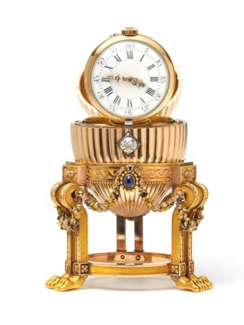 A Faberge egg worth millions was purchased at a flea market in the US for just $14000. REUTERS...