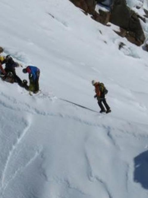 A man was seriously injured when he slipped and fell on the Pinnacle Ridge, Whakapapa, in an area...