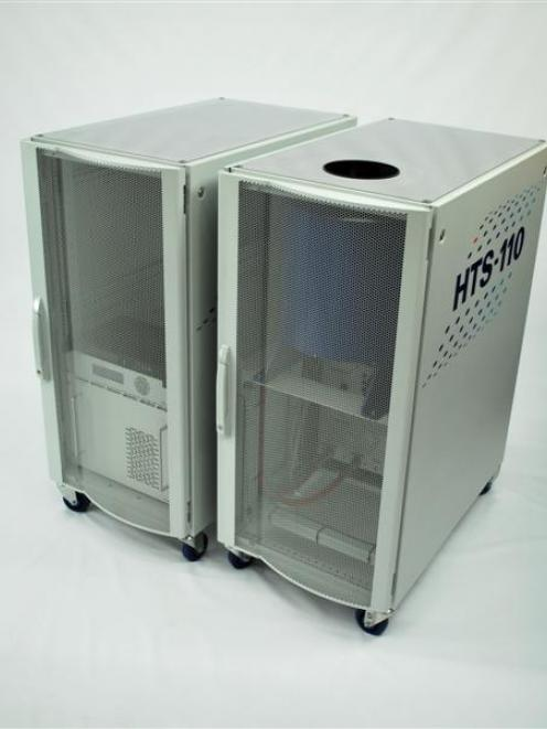 A nuclear magnetic resonance  machine developed by Scott Technology subsidiary HTS-110 Ltd. Photo...