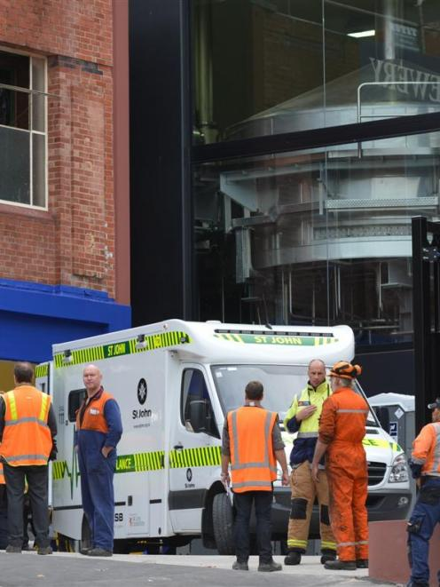 A person was taken to hospital following an accident involving a lift shaft at Speight's. Photo...