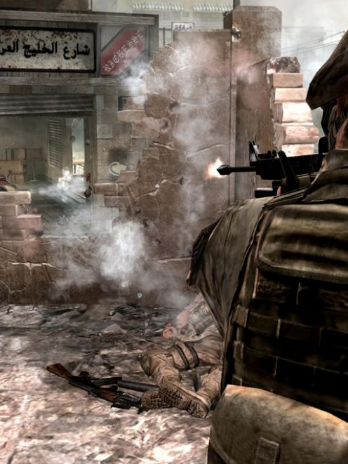 A scene from Call of Duty: Modern Warfare 2