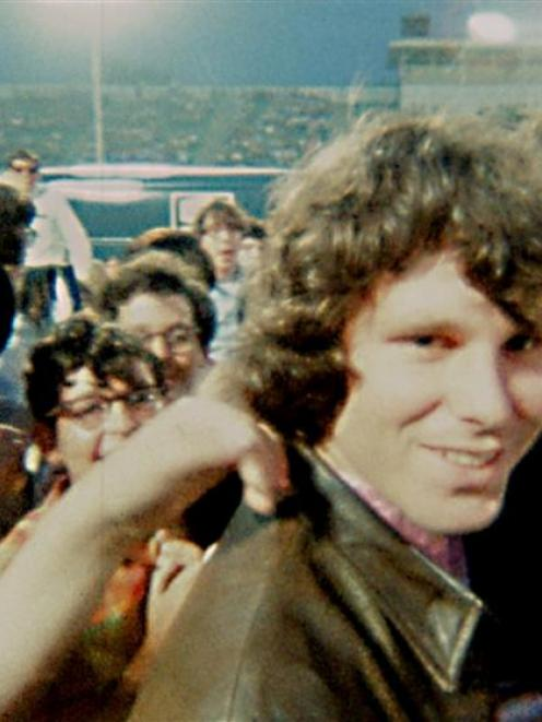 A scene from the Doors film 'When You're Strange'.