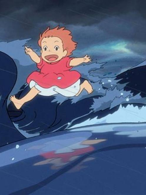 A scene from the film 'Ponyo'.