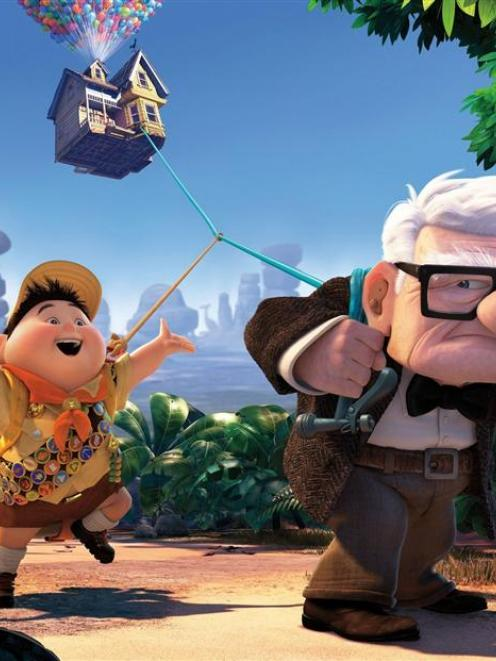 A scene from Up.