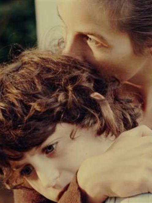 A still from Daniel Borgman's film 'Lars and Peter'.