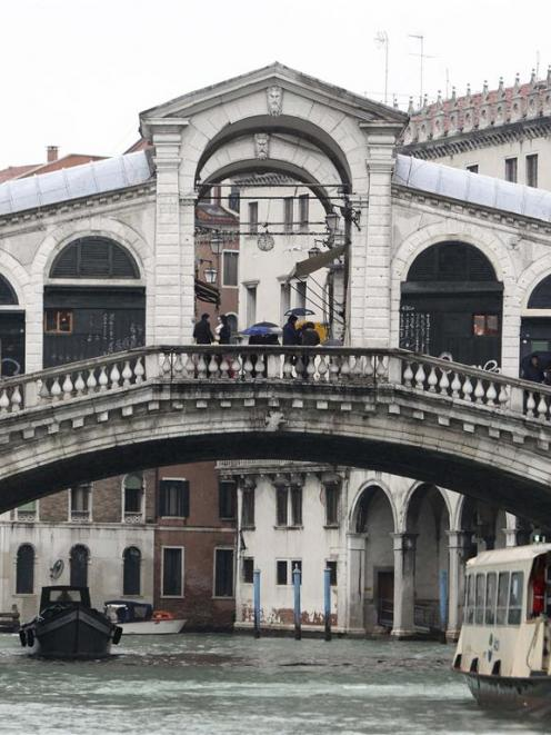 A view of Rialto Bridge in Venice. REUTERS/Manuel Silvestri