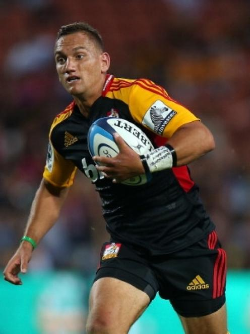 Aaron Cruden, a key man for the Chiefs. Photo Getty