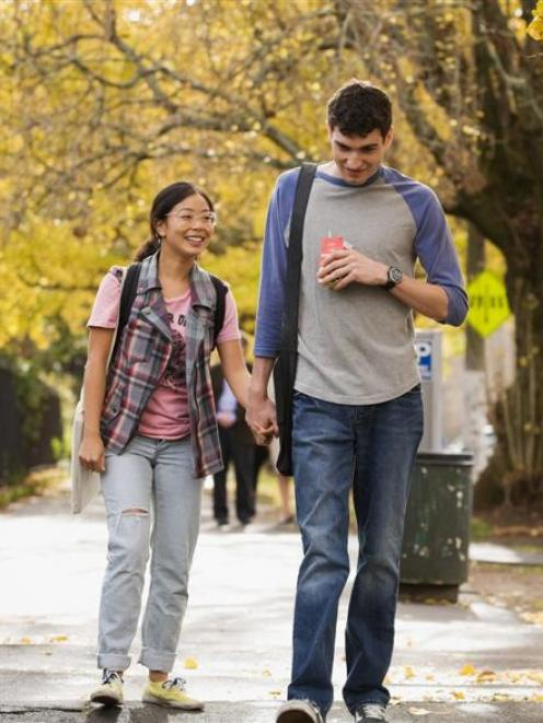 Actors Michelle Ang and Matt Whelan star in <i>My Wedding and Other Secrets</i>.