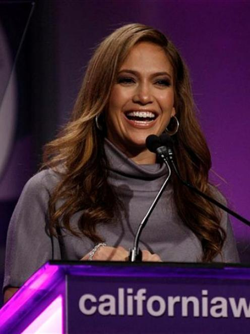 Actress Jennifer Lopez is one of the most requested looks in Brazil. Photo from AP.