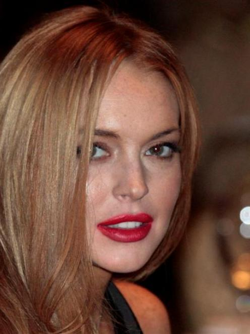 Actress Lindsay Lohan was arrested outside a New York nightclub on an assault charge.   REUTERS...
