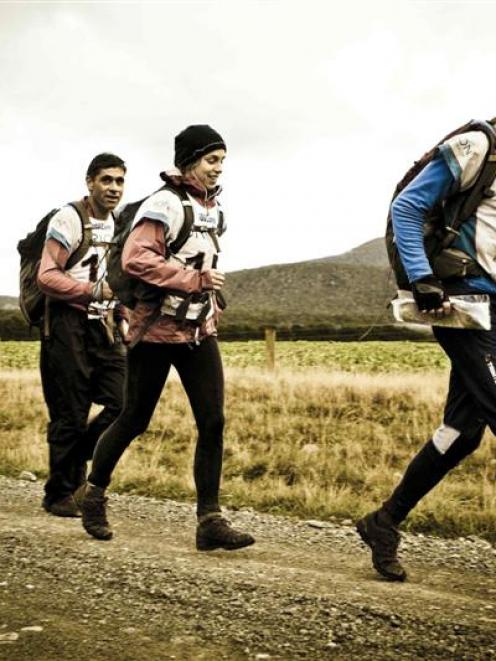 Adventure Racing World champions team Seagate competes during the inaugural Godzone Adventure...