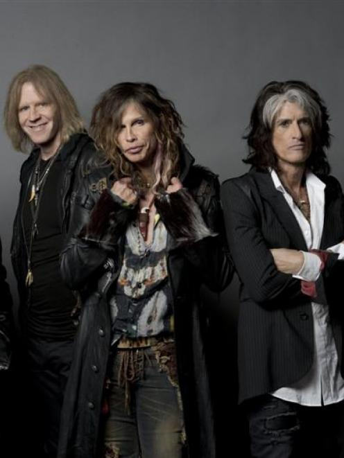 Aerosmith. Photo supplied