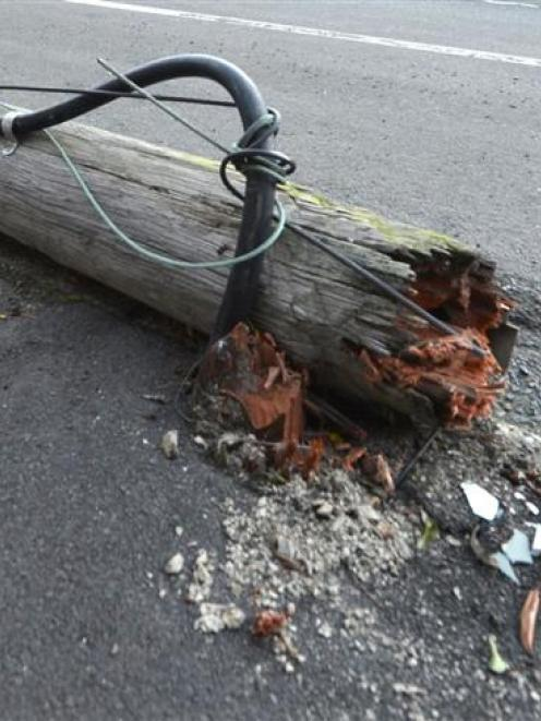 Ageing power poles may hit homeowners in the pocket. Some power poles are privately owned and...