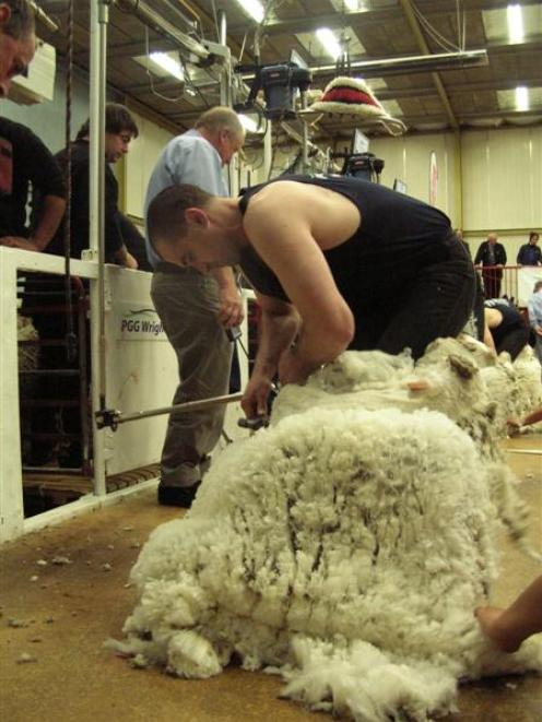 Agreement on funding the training of wool harvesters should ensure a new crop of champion...