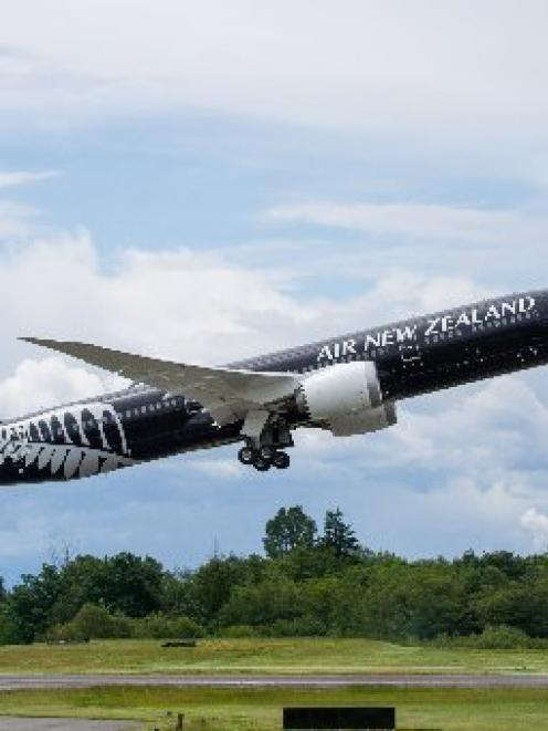 Air New Zealand's first Boeing 787-9 was tested in the skies above Seattle, Washington, this week...