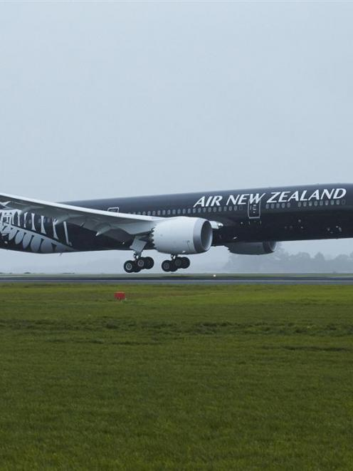 Air New Zealand will face increased competition in the coming year. Photo supplied.