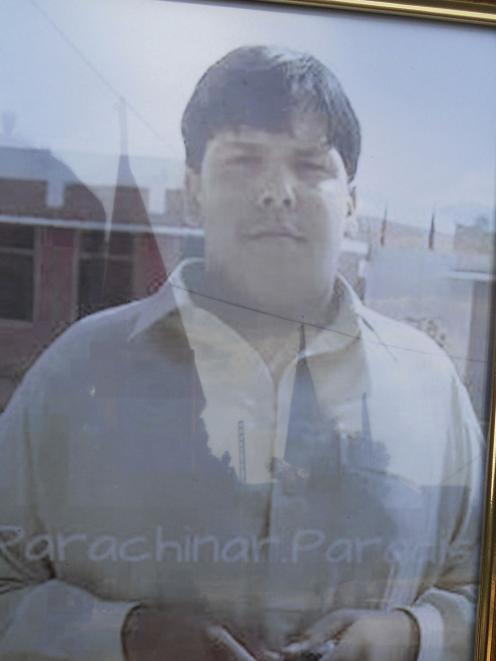 Aitezaz Hassan, who was killed trying to prevent a suicide bomb attack. REUTERS/Saqib Orakzai