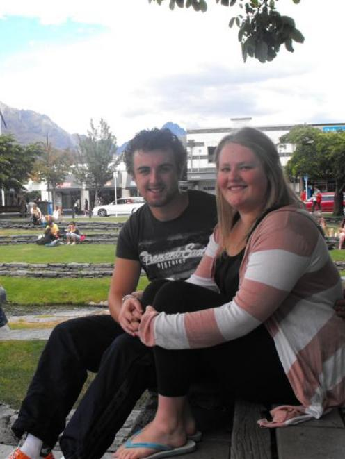 Alex Cottier (21) and Ashleigh Clement (20) are settled back in  the Wakatipu  for good, and...