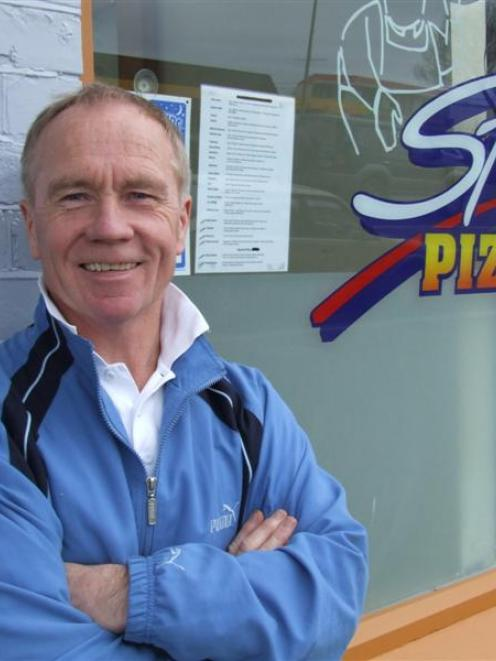"""Alex Lothian says he is """"pleasantly apprehensive"""" about reopening Stefanos Pizzeria in Oamaru...."""