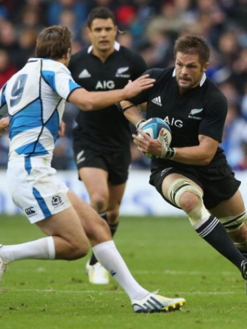 All Black captain Richie McCaw played some of the best rugby of his career this year.