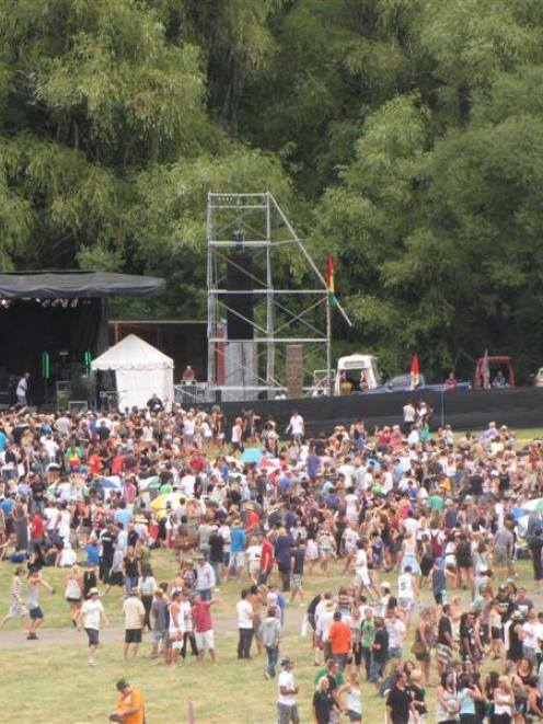 Almost 4000 revellers turned out for the inaugural Shotover Sunshine Festival in 2011. The...
