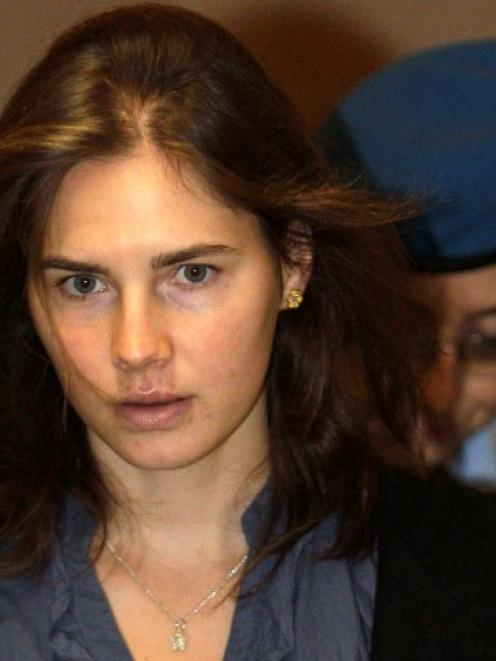 Amanda Knox has been found guilty of the murder of Briton Meredith Kercher. REUTERS/Alessandro...