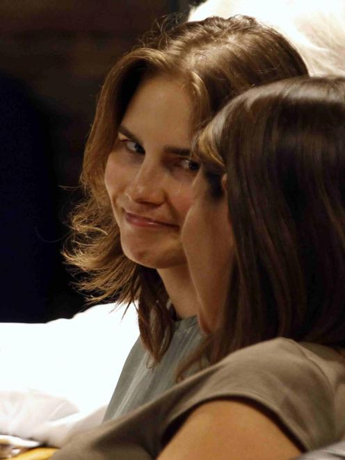 Amanda Knox, the US student convicted of murdering her British flatmate Meredith Kercher in Italy...