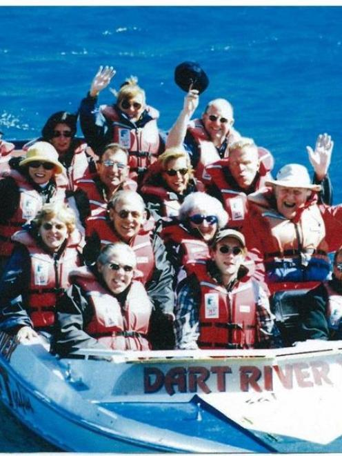 Among  Dart River Jet Safaris passengers over the past 25 years were the late Sir Edmund Hillary ...
