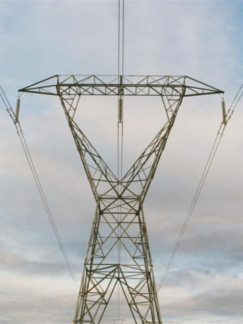 An artist's impression of a tower after upgrading to double lines. Photo by Transpower.