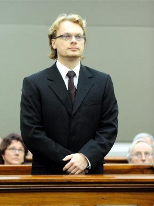 An ODT file photo of Clayton Weatherston.
