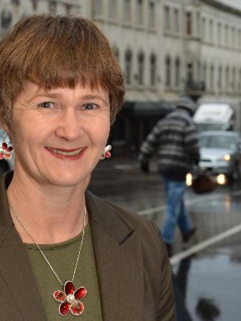 Anderson Lloyd Lawyers partner Lesley Brook in Dunedin yesterday. Photo by Peter McIntosh.