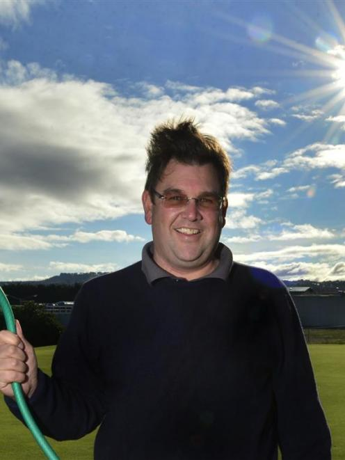Andrew Whiley, from the Chisholm Park Golf Club, says the club wants to use the treated grey...