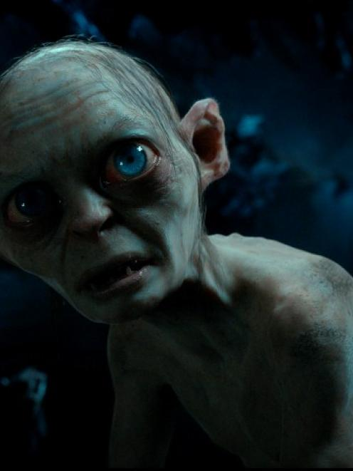 Andy Serkis as Gollum in a scene from 'The Hobbit: An Unexpected Journey'. REUTERS/Warner Bros...