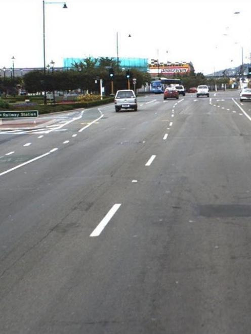 Anzac Ave intersection. Photo by ODT.