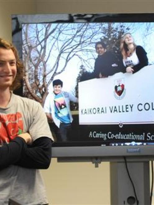 Aoraki Polytechnic film and television students who have been working on a series involving...