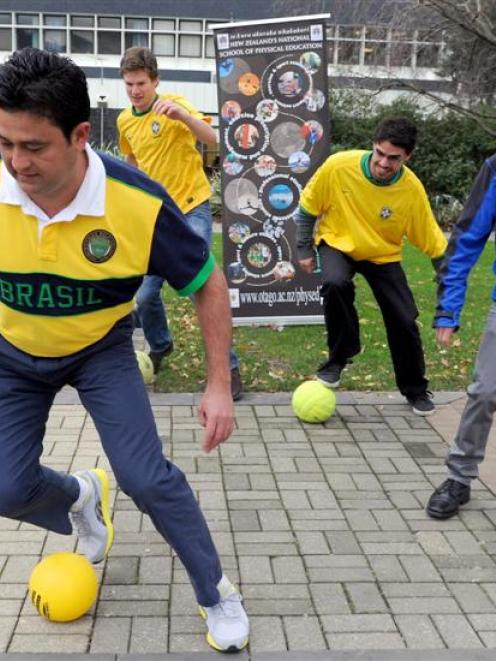 Applying techniques from the Brazilian martial art of capoeira to football are University of...