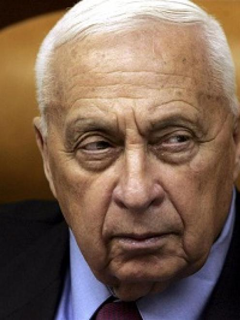 Ariel Sharon is shown in this 2005 file photo. REUTERS/Ronen Zvulun/Files