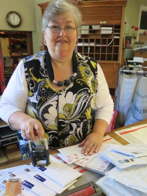 Arrowtown Post and Telegraph Office postmistress Marilyn Everett ends more than two decades of...