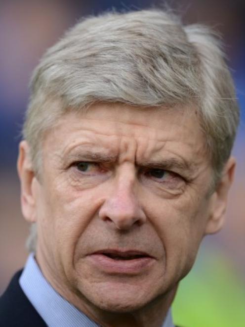 Arsene Wenger. Photo Reuters