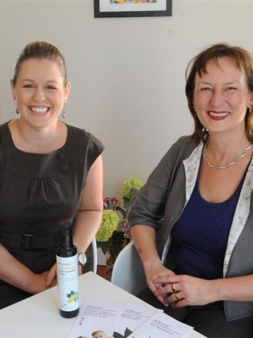 Artemis sales and marketing manager Rebecca Flintoft (left) and managing director Sandra Clair...